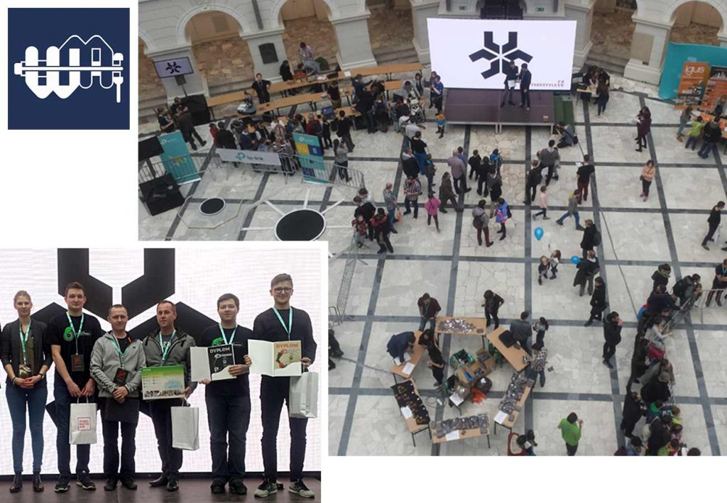 Zespół SumoMasters na zawodach Robomaticon 2017
