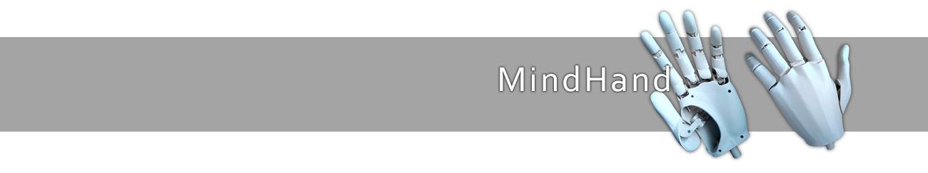 Wizualizacja protezy MindHand