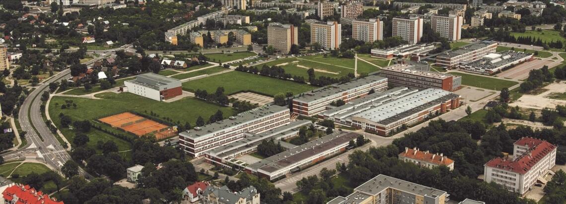 Widok na Kampus Politechniki Białostockiej