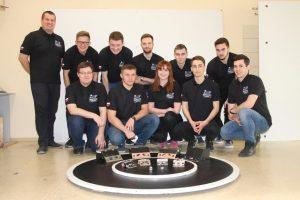 Zespół SumoMasters z Wydziału Mechanicznego Politechniki Białostockiej