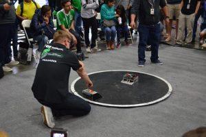 Zespół SumoMasters na zawodach robotycznych Ameryki Północnej – Robogames 2018 w Pleasanton