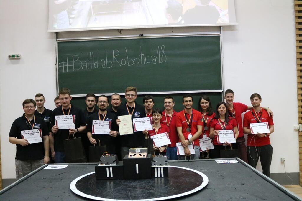 Złoty medal zespołu SumoMasters