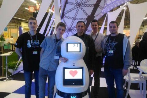 Robot Bobot na Międzynarodowych Targach Wynalazczości Concours Lépine