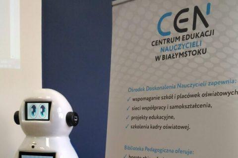 Robot Bobot w Centrum Edukacji