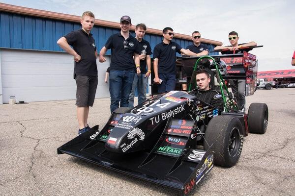 Zespół Wydziału Mechanicznego Cerber-Motorsport