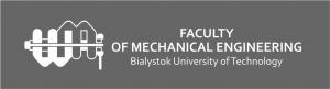 Logotyp Faculty of mechanical engineering Bialystok Uniwersity of technology
