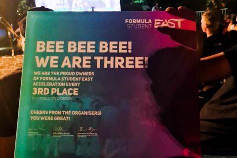 Zdjęcie planszy nagrody za 3 miejsce w zawodach