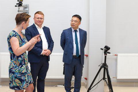 Chiński minister odwiedził WM PB
